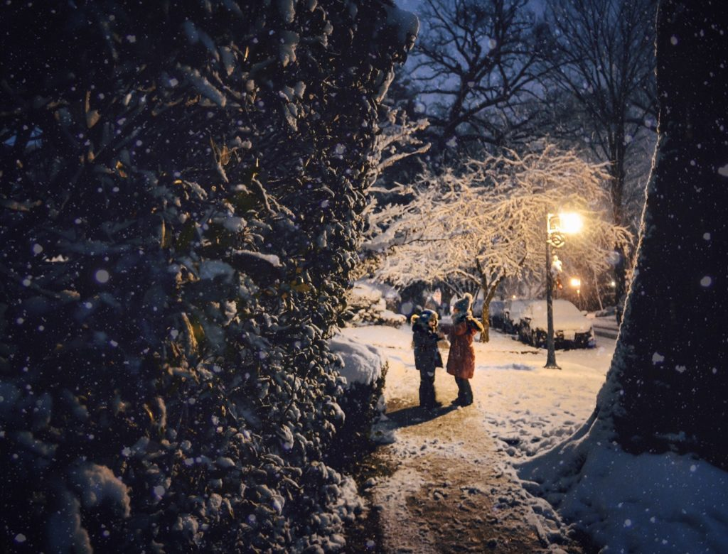 beautiful-snowy-night