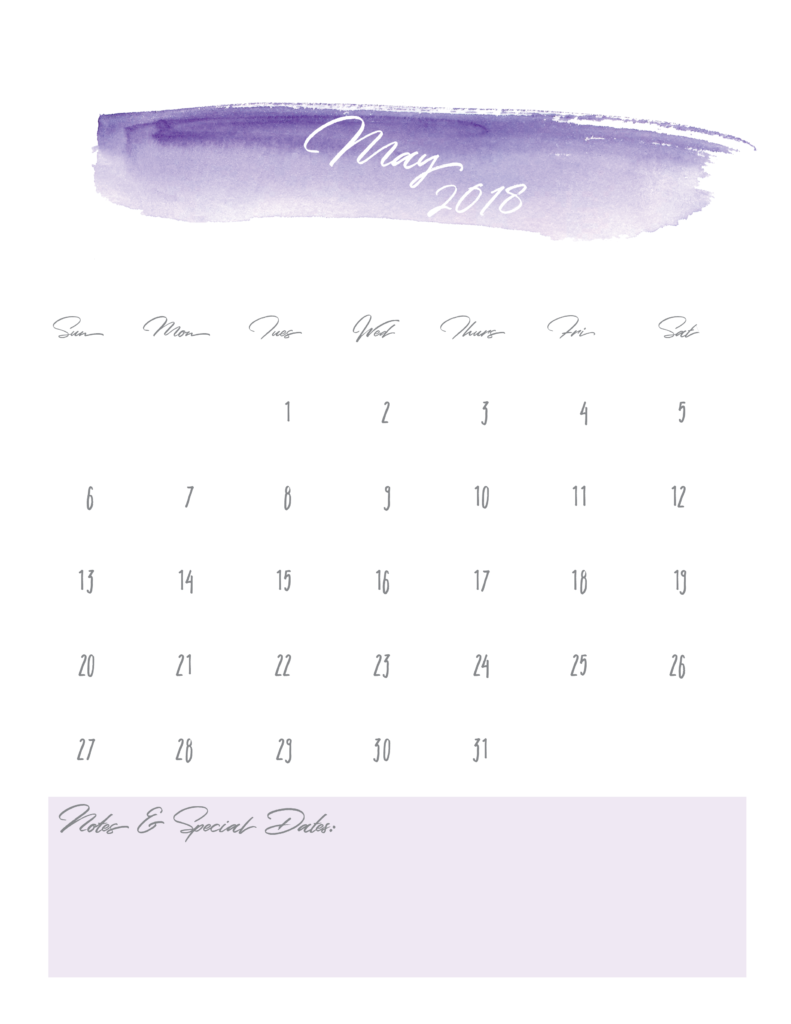 May-2018-Watercolor-Free-Printable-Calendar